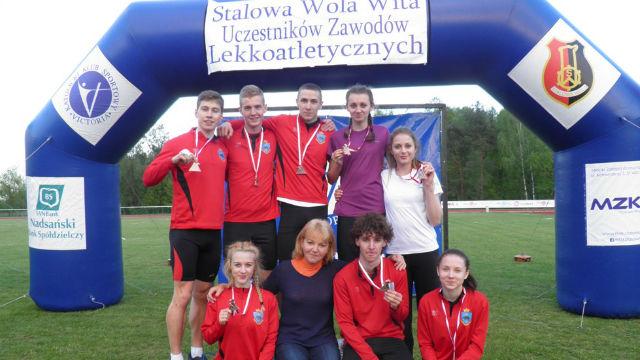 """8 medali UKS """"Tempo 5"""" z Przemyśla na mistrzostwach lekkoatletycznych"""