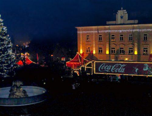 Świąteczna ciężarówka Coca-Coli zawita do Przemyśla