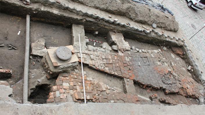 Archeolodzy badali odnalezione pozostałości kościoła św. Piotra i Pawła w Przemyślu