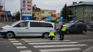 Potrącenie na ul.Lwowskiej w Przemyślu