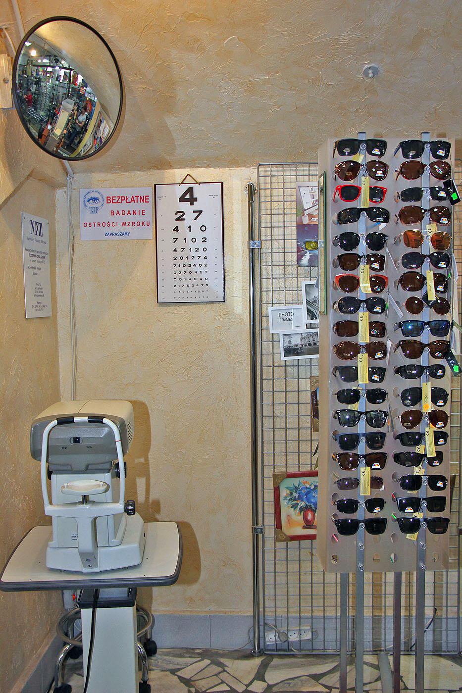 """4ed249924b4de6 Stoisko """"Foto Optyka"""" oferuje także okulary z progresywną soczewką – już od  390 zł za komplet, soczewki kontaktowe, a przez całe lato promocję 20% na  szkła ..."""