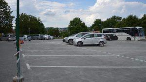 Koniec remontu parkingu przy Rybim Placu