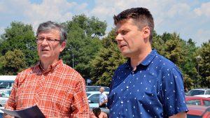 Przemyscy kupcy wnioskują o przyśpieszenie prac nad powstaniem parkingu podziemnego