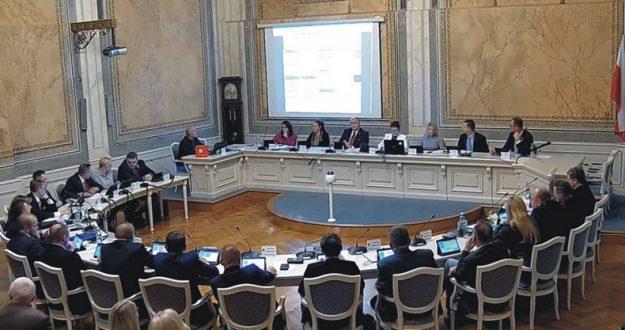 Przemyska Rada Miejska z dwoma wiceprzewodniczącymi