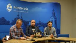 Od lewej :Mirosław Majkowski, Marcin Kowalski, Tomasz Leszczyński